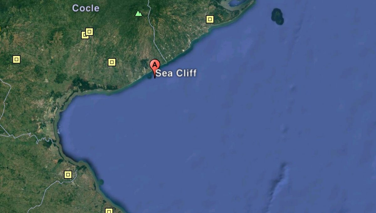 Sea Cliff Google Earth